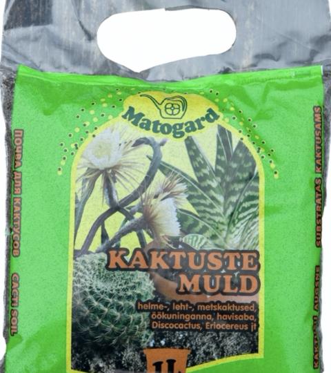 Kaktusemuld Matogard (pruun)