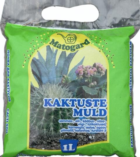Kaktusemuld Matogard (sinine)